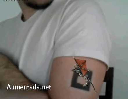 augmented reality tatoo