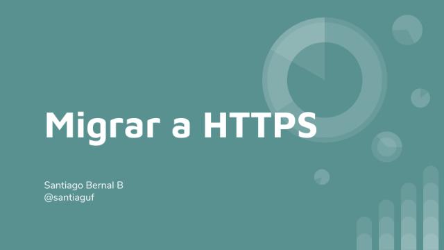 Migrar a HTTPS