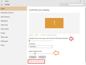 customize your display