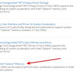 วิธีแก้ปัญหา intel rst service is not running