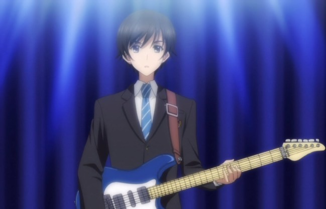 And the real miracle is that Haruki managed to learn decent guitar.