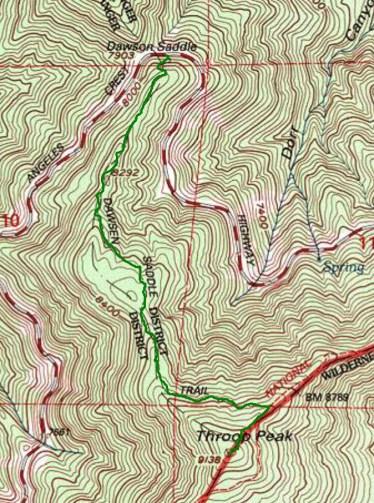 throop peak map