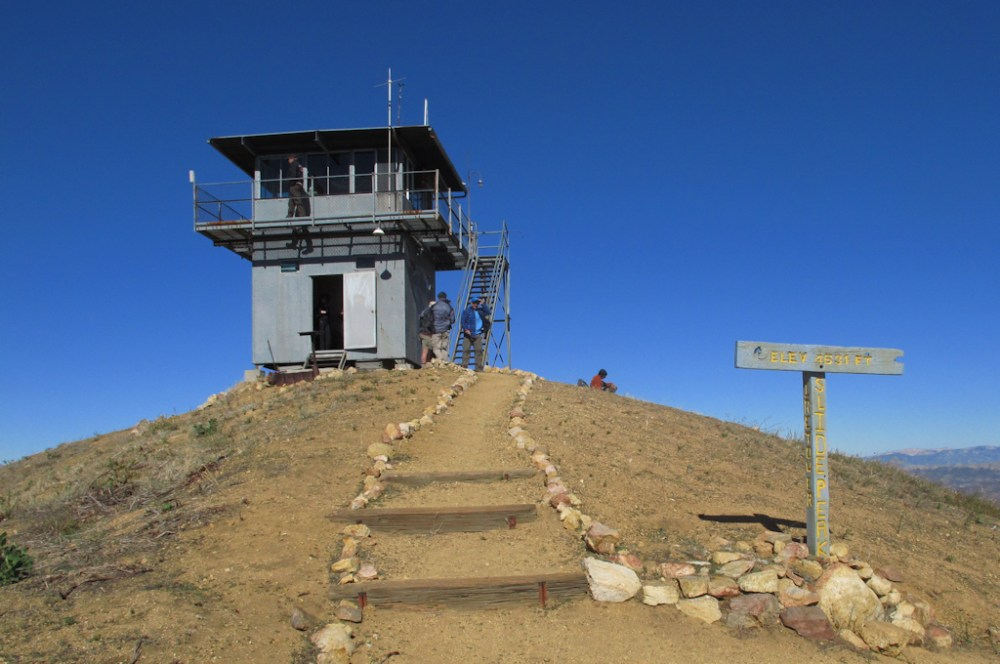 Slide Mountain lookout