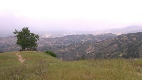 Looking NE towards Santa Clarita.