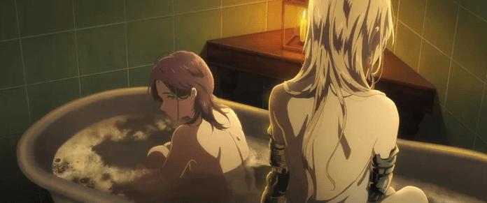 Violet Evergarden Bath