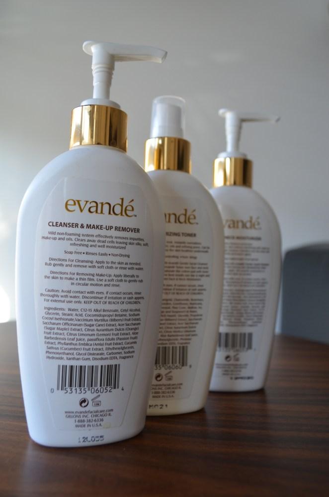 Evande Facial Care - A Product Review (5/6)