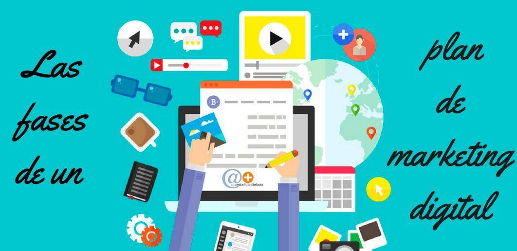 Las Fases del Plan de Marketing Digital | Consultora AMDT