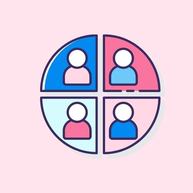 segmentación en marketing diferentes segmentos