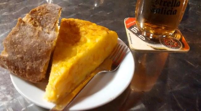 Tortilla del Café Bar Pallas
