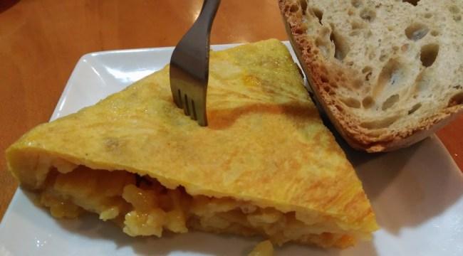 Tortilla de La Sabrosa
