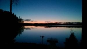 Näköala, järvimaisema, vuokramökki