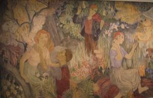 Juhlat maalla, Tove Jansson, HAM, Tove-näyttely, muumit, taidemaalari