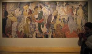 Juhlat kaupungissa, Tove Jansson, taidemaalari, muumit, HAM