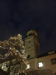 Klementium, jouluvalot, joulu, Praha, Eurooppa