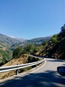 Tie La Tahaan, Sierra Nevada, Granada, Espanja
