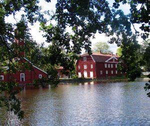 Strömfors, outdoor factory, sup, suppailla, lasten kanssa