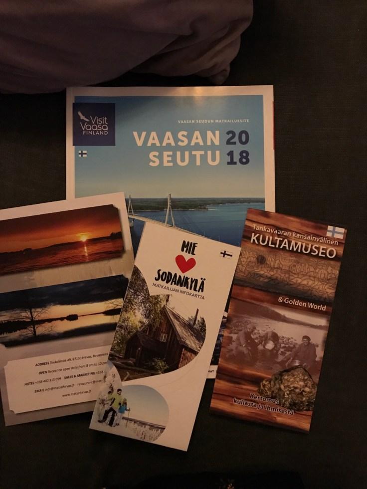 Sodankylä, Lappi, Kultamuseo, Posio, Utö, Vaasa, Visit Vaasa, Visit Finland, Visit Rovaniemi, Hotelli Metsähirvas, Himmerki