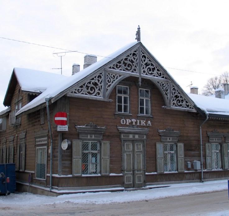 Rakvere, arkkitehtuuri, venäläinen, virolainen, historia, Pikk