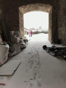 Narva, Narvan linna, talvella, Visit Viro,