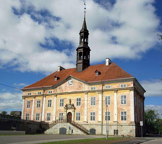 Narva, barokki, Narvan raatihuone