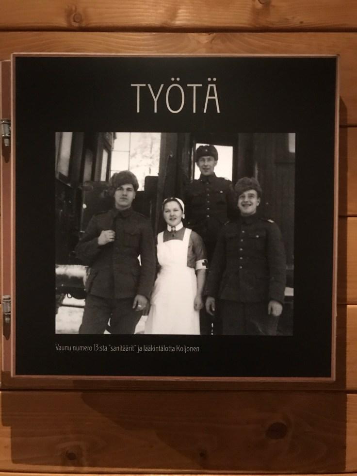Löökintalotat, lottamuseo, Tuusulanjärvi
