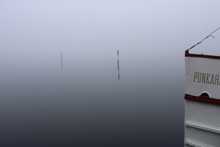 Saimaa, S/S Punkaharju, risteilyt, sumu, lake Saimaa