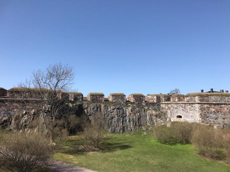 Linnoitus, Suomenlinna, saari, maisemat, maailmaperintökohde, Visit Finland, Helsinki, Sea fortress, Unesco