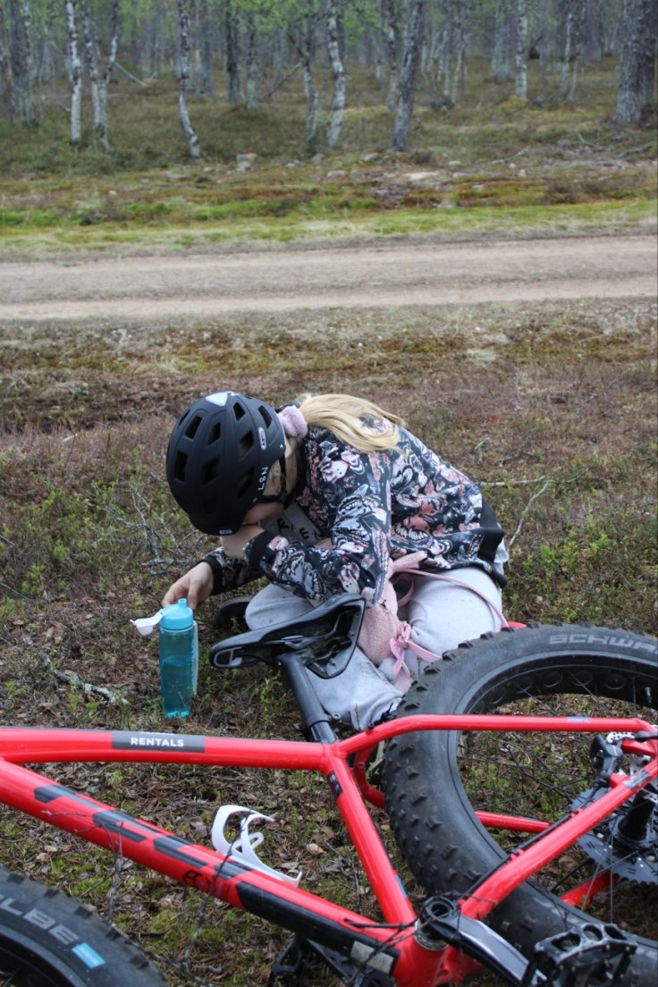 Fatbike, Saariselkä, vuokraa pyörä, Lapland Safaris