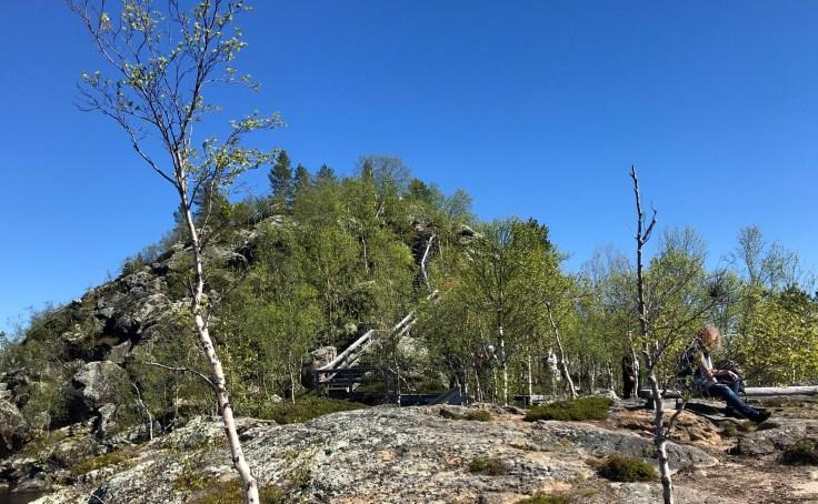 Ukonkivi, Inarinjärvi