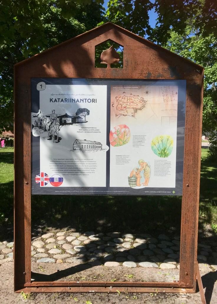 Linnoitus, Lappeenranta, kulttuuri- ja luontopolku