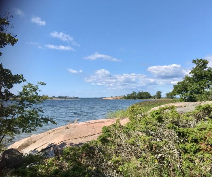 Hanko, Itämeri, Tulliniemi, luontopolku