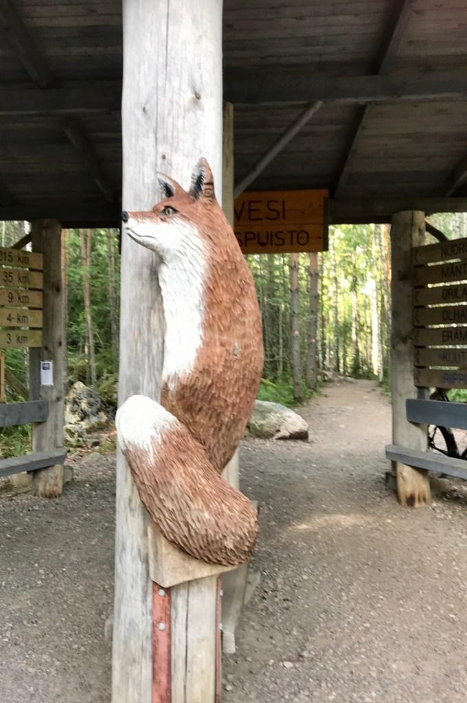 Repoveden kansallispuisto, Ketunlenkki