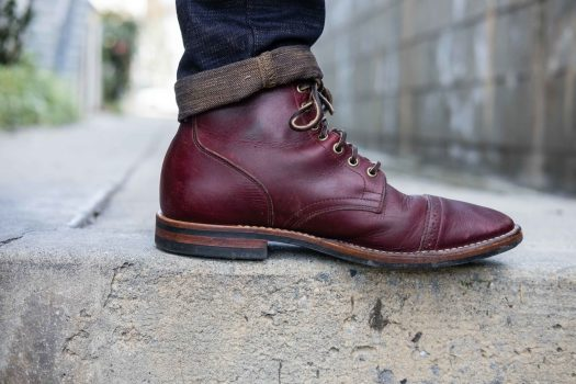Viberg Color 8 CXL Boot Side View