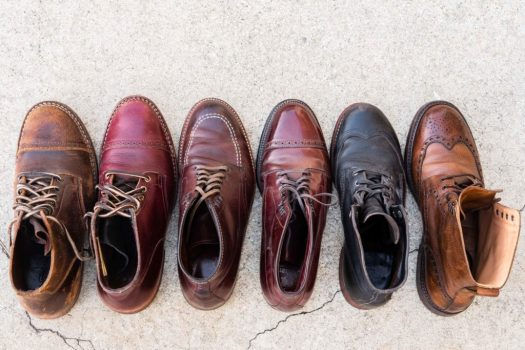 Viberg, Alden, Wolverine, and Crockett & Jones