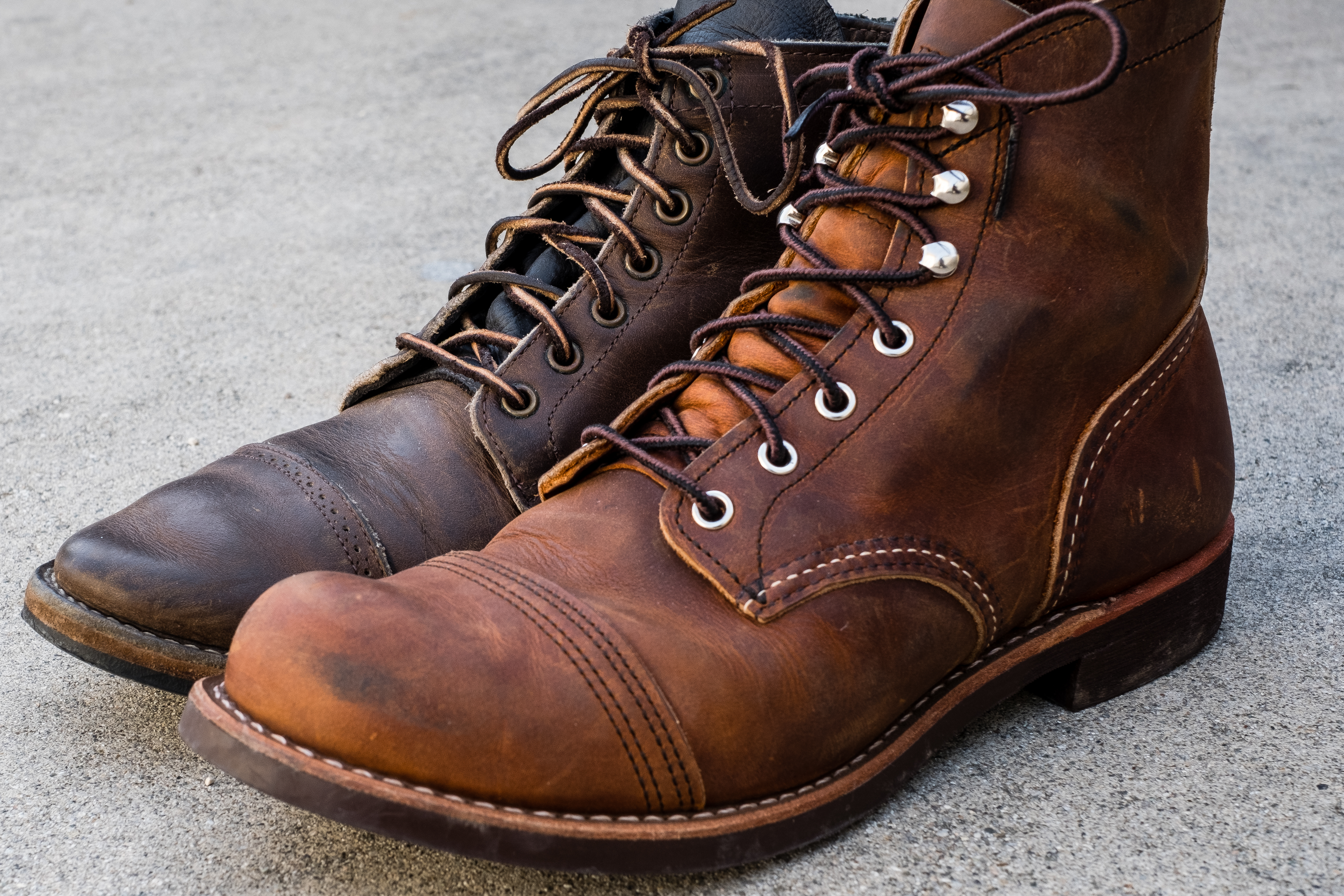 Red Wing 8085 Copper Rough Tough Iron Ranger Review Vs Viberg 2030