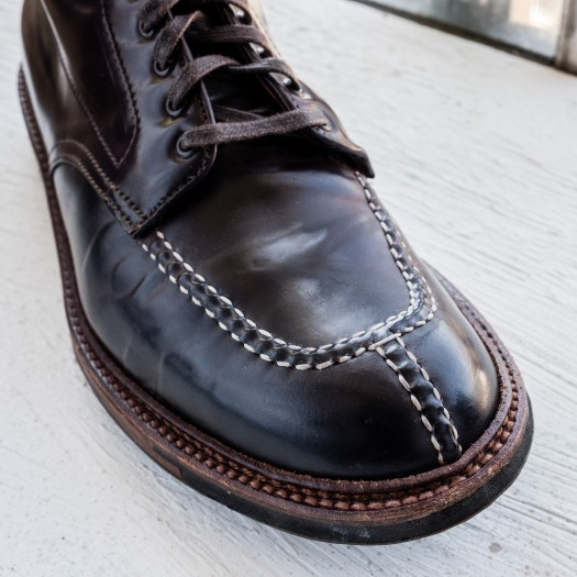 Alden x Epaulet Color 8 Shell Cordovan Tanker Boot