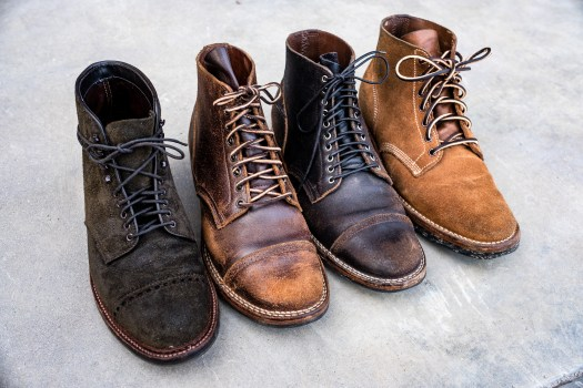 Horween's diversity of resilient leather
