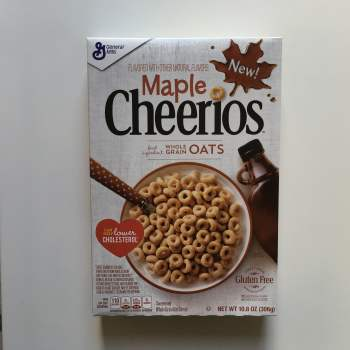 Maple Cheerios (306g) From Auntie Ammies American Candy Shop