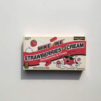 Mike & Ike Strawberries & Cream 141g from Auntie Ammie American Candy Shop