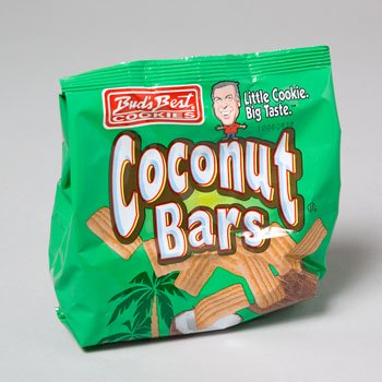 Buds Best Bite Size Coconut Bars 170g
