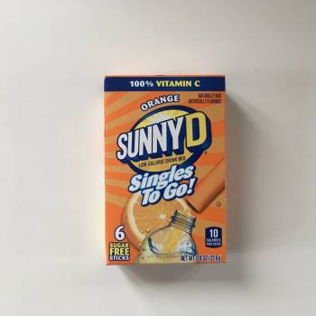 Sunny D Orange Singles to go! From Auntie Ammies Candy Shop
