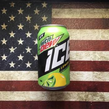 Mountain Dew Ice 355ml From Auntie Ammies Candy Shop