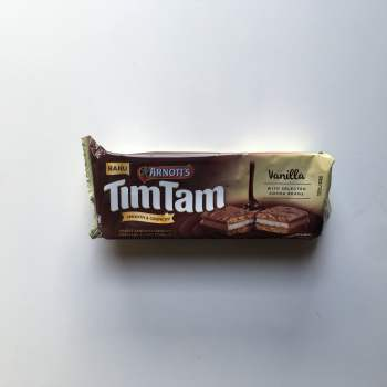 Tim Tam Biscuit Vanilla 94g from Auntie Ammies American Candy Shop