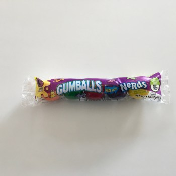 Gumballs made with Nerds (46g) From Auntie ammies American Candy Shop