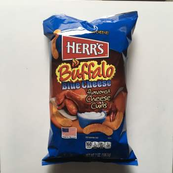Herrs |Buffalo Blue Cheese Curls (198g) from auntie ammies american Candy Shop