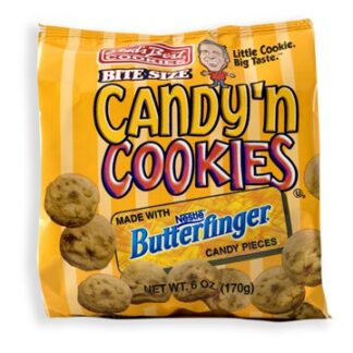 Buds Best Bite Size Candy 'n Cookies Butterfinger 170g from auntie Ammies American candy shop
