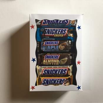 Ultimate Snickers Giftbox from Auntie ammies american Candy Shop