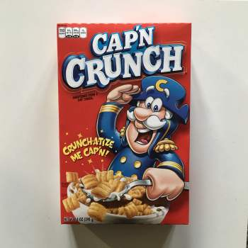 Captain Crunch 398g From Auntie ammies American Candy shop