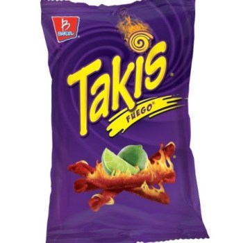 Takis Fuego Chips (280g) from auntie Ammies American Candy Shop