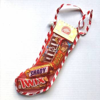 Peanut butter Christmas Stocking Small From Auntie Ammie Candy Shop